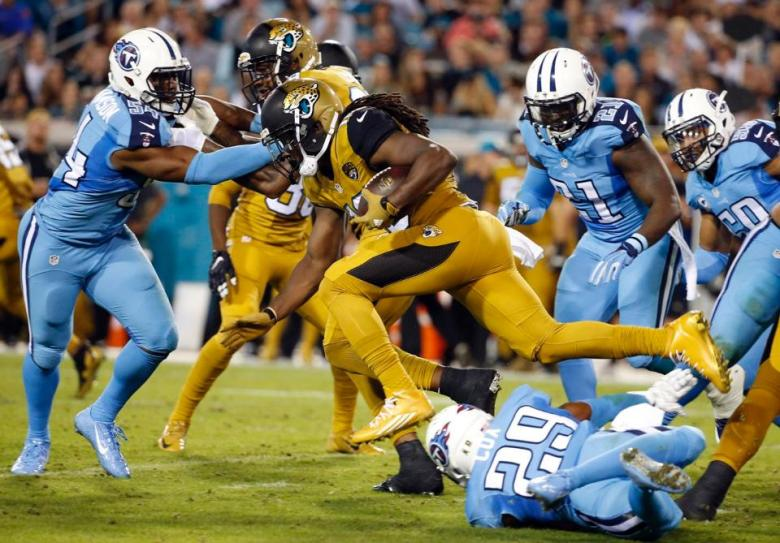 Image result for titans vs jags color rush